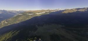 Panorama 360 au-dessus de Thyon 2000
